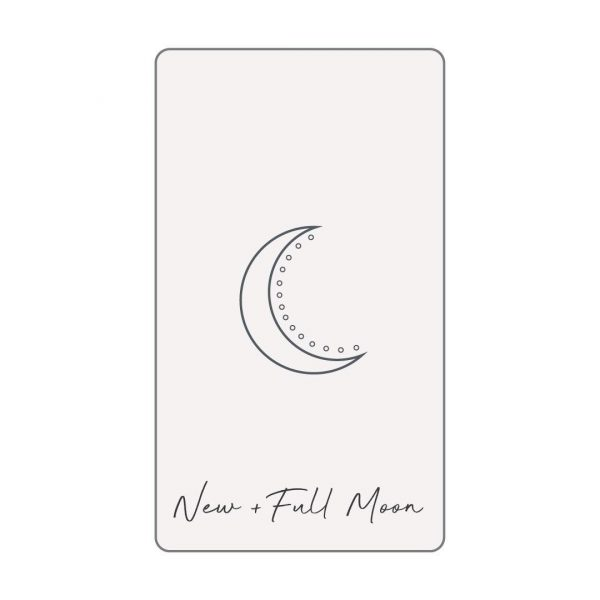 NEW/FULL MOON TAROT READING GIRL AND HER MOON