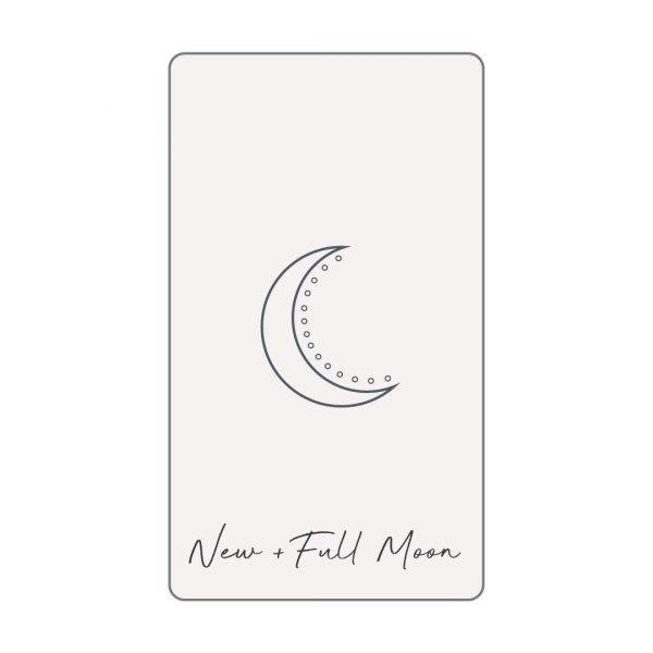 NEW/FULL MOON TAROT READING GIRL AND HER MOON