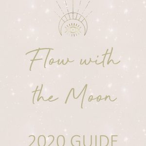 Flow with the Moon 2020 Guide Girl and Her Moon