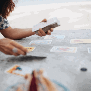 SUPER FULL MOON IN VIRGO: GUIDANCE FROM THE TAROT GIRL AND HER MOON