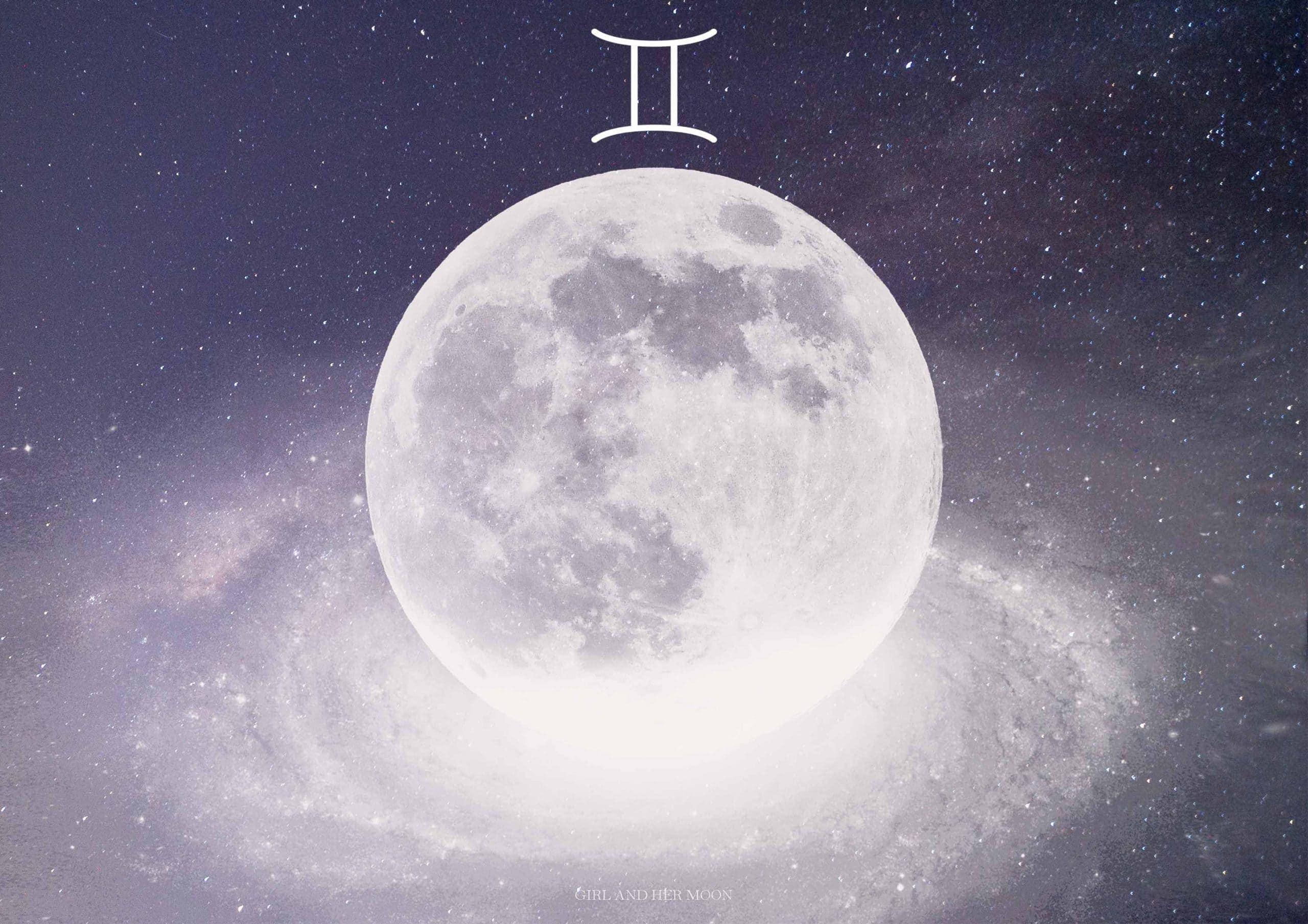 Gemini New Moon May 2020 - Girl and Her Moon