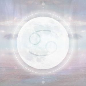 New Moon in Cancer - Girl and Her Moon