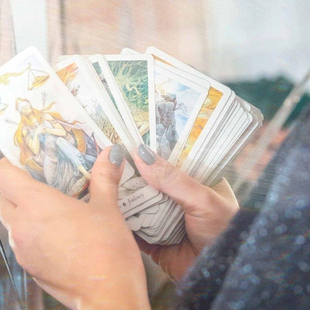 Cancer New Moon Tarot Reading - Girl and Her Moon