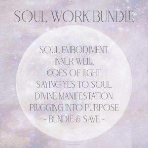 Soul Work Bundle Girl and Her Moon