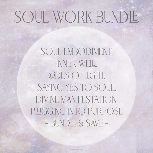 Soul Work Bundle Girl and Her Moon