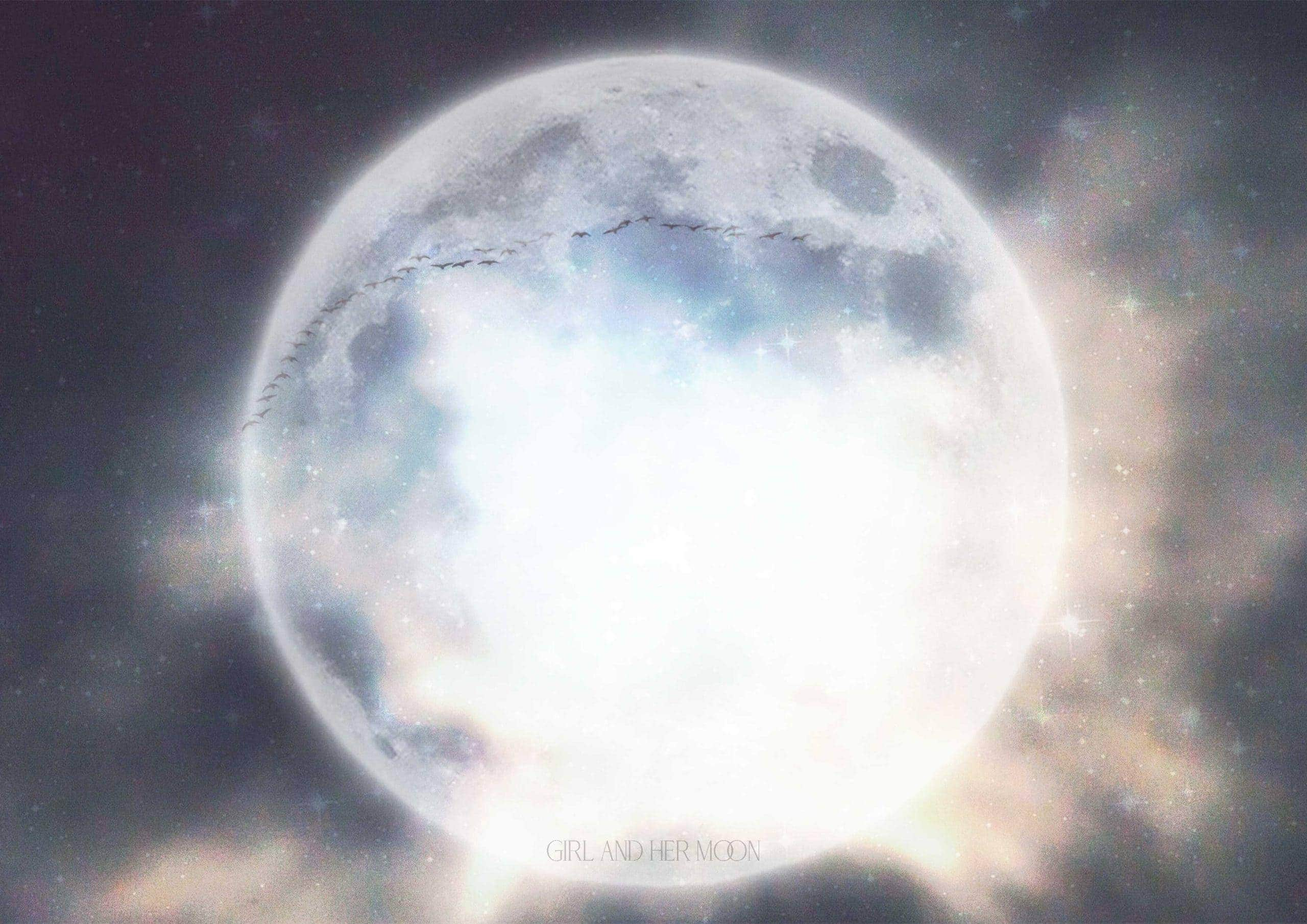 Taurus Full Moon October 2020 Girl and Her Moon