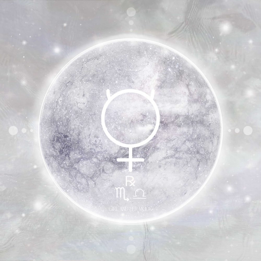 Mercury Retrograde October 2020 Girl and Her Moon