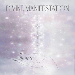 Divine Manifestation Soul Work Girl and Her Moon