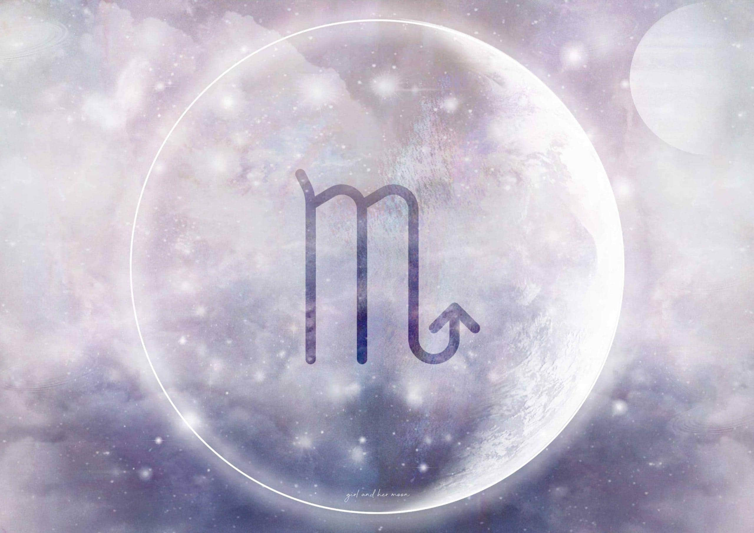 SCORPIO NEW MOON NOVEMBER 2020 Girl and Her Moon