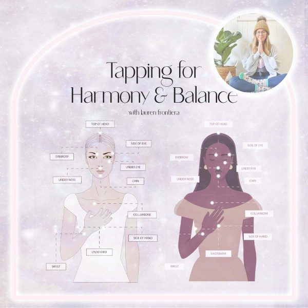 Tapping for Harmony & Balance Lauren Frontiera x Girl and Her Moon