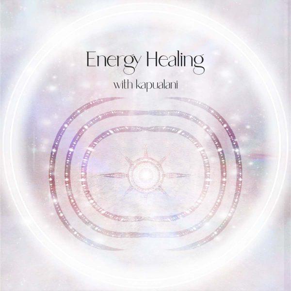 Energy Healing Girl and Her Moon
