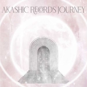 Akashic Records Journey Soul Work Girl and Her Moon