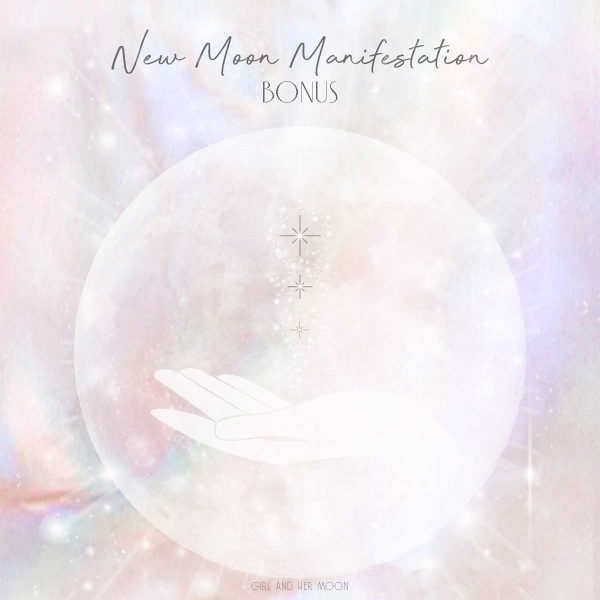 New Moon Manifestation Flow with the Moon Bonus Girl and Her Moon