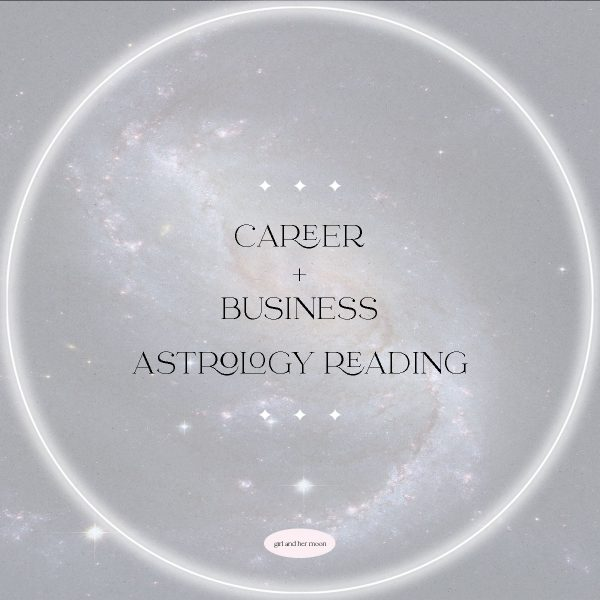 CAREER AND BUSINESS ASTROLOGY READING GIRL AND HER MOON