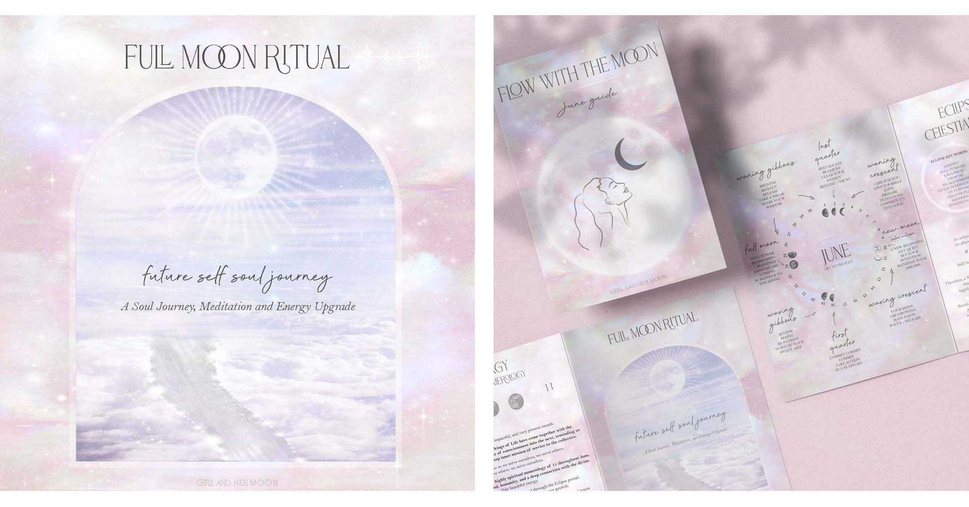 Full Moon in Capricorn June 2021! ritual GIRL AND HER MOON