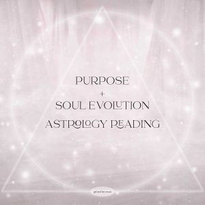 PURPOSE AND SOUL EVOLUTION ASTROLOGY READING GIRL AND HER MOON
