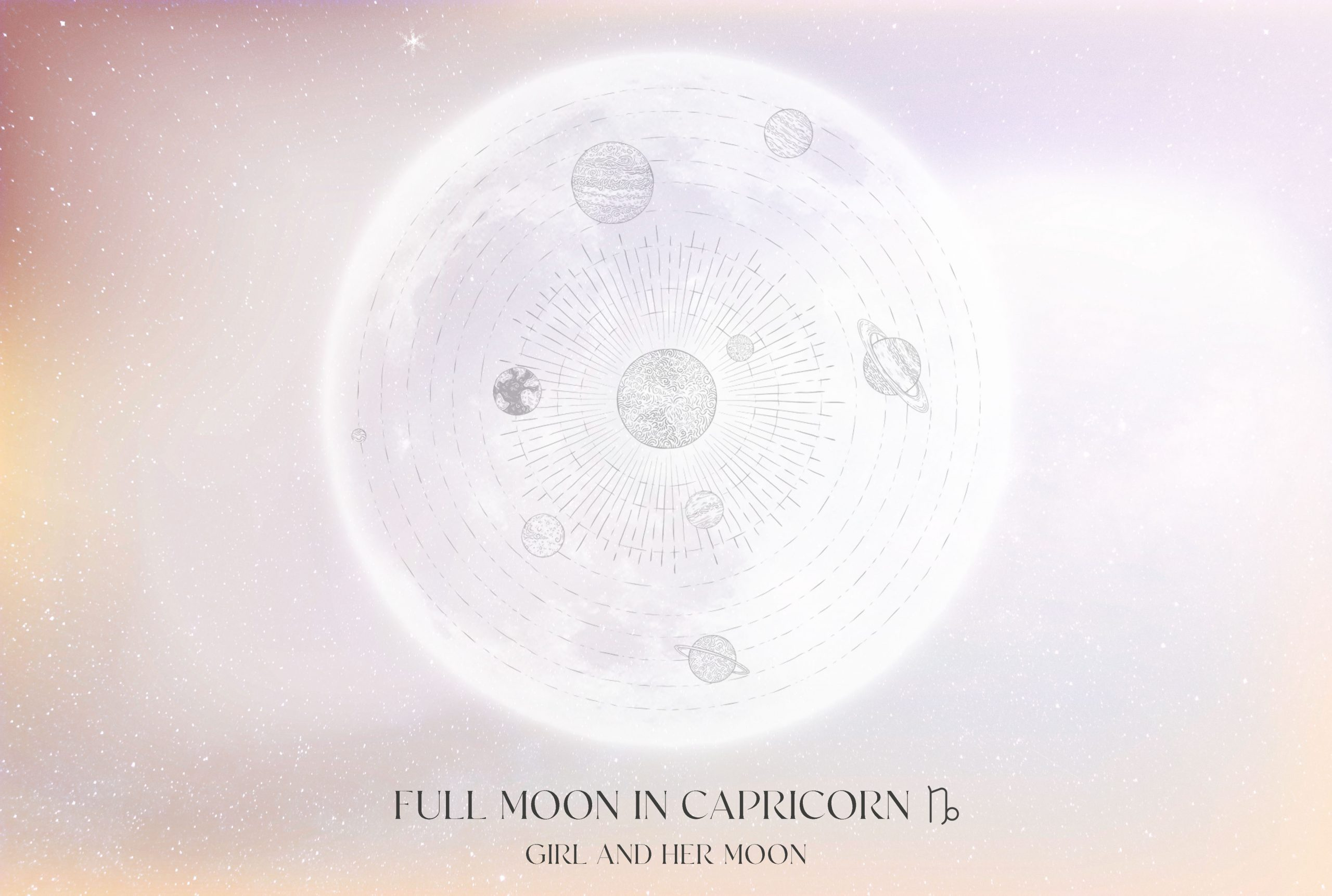 FULL MOON IN CAPRICORN JUNE 2021! ALL YOU NEED TO KNOW + RITUAL GIRL AND HER MOON