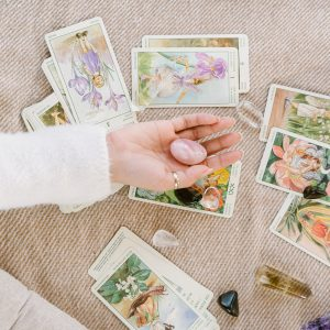 New Moon in Cancer July 2021: Zodiac Tarot Reading Girl and Her Moon