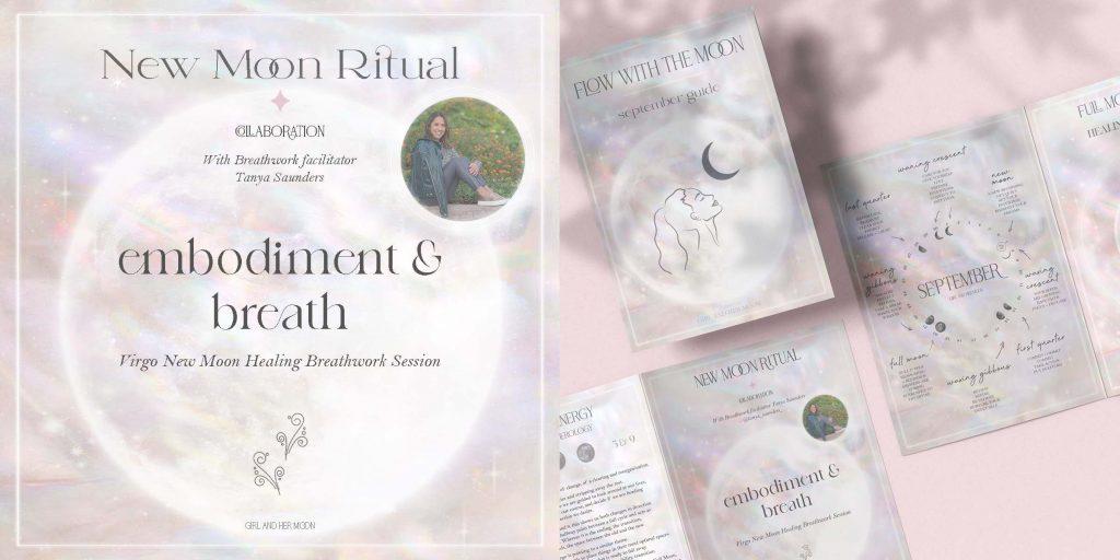 Virgo New Moon Ritual September 2021 Girl and Her Moon