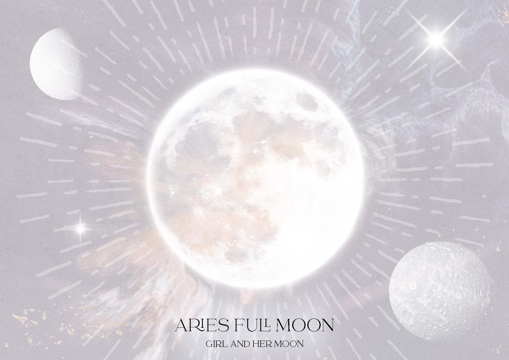 ARIES FULL MOON OCTOBER 2021: RITUAL & HOROSCOPES! Girl and Her Moon